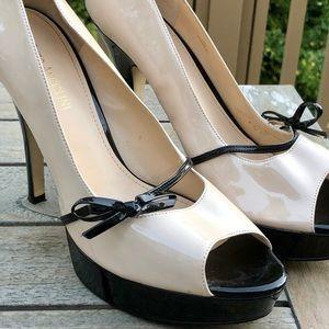 Enzo Angiolini Peep Toe Pump-Size 10